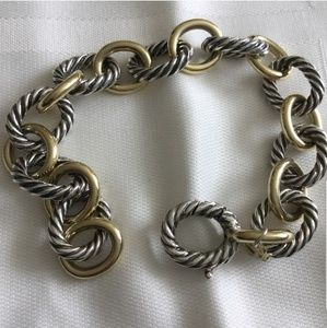 David Yurman Oval Link Bracelet.